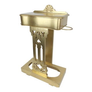 Hollywood Regency Antique Umbrella Stand