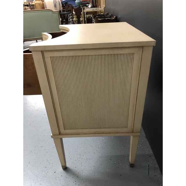 Modern History Gustavian 2 Drawer Nightstand For Sale In Richmond - Image 6 of 10
