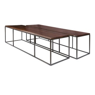 Large Two-Part Coffee Table For Sale