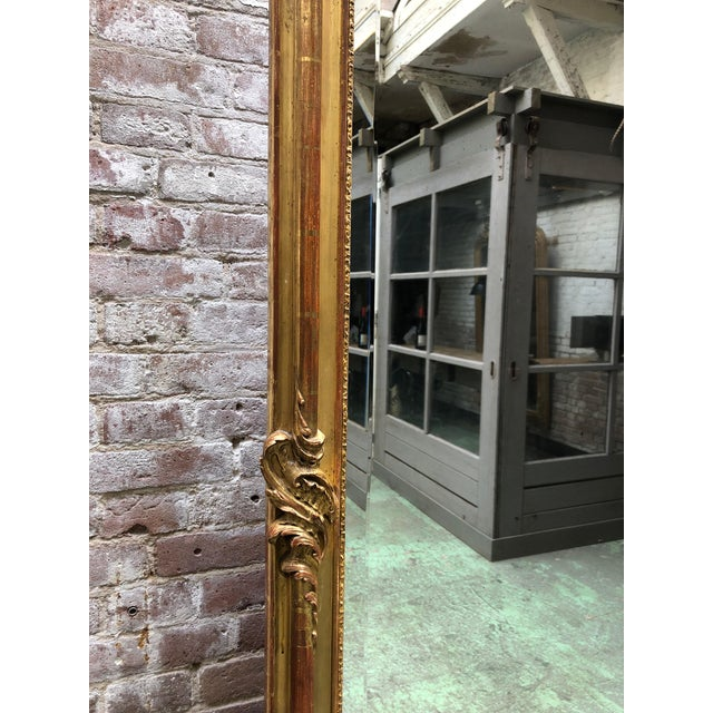 Wood Louis XV Mirror , 19th Century For Sale - Image 7 of 9