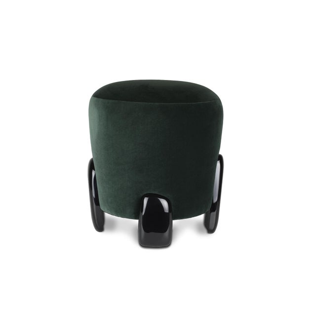 Contemporary Noaki Stool From Covet Paris For Sale - Image 3 of 8