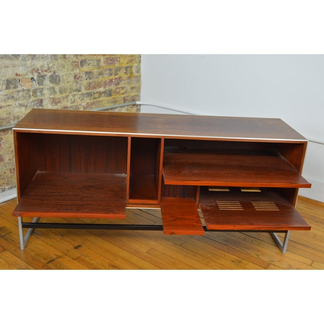 1970s Bang & Olufsen Rosewood Console For Sale - Image 5 of 8
