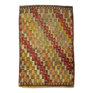 Vintage Wool Anatolian Rug For Sale