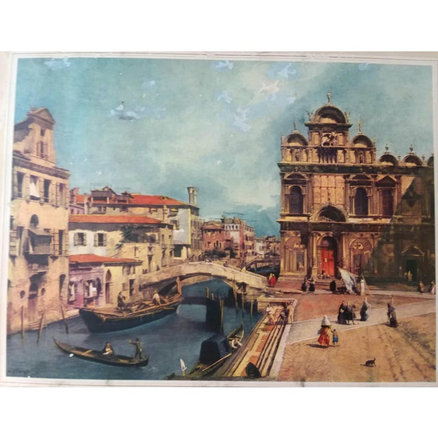 """Late 19th Century """"Venice, 1889"""" Illustrated Hardcover Book For Sale - Image 5 of 12"""