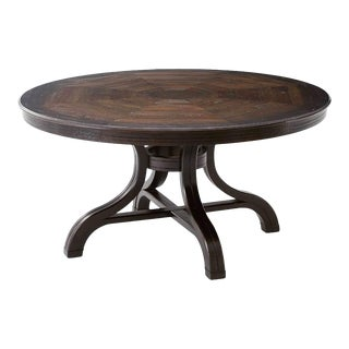 Italian Provincial Round Dining Table For Sale