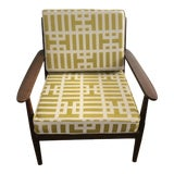 Image of Vintage Mid-Century Armchair For Sale