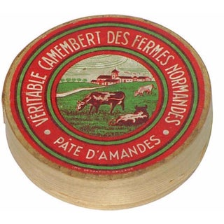 French Camembert Cheese Box For Sale