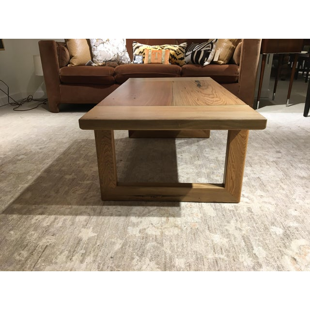 Cypress Cocktail Table For Sale - Image 5 of 10