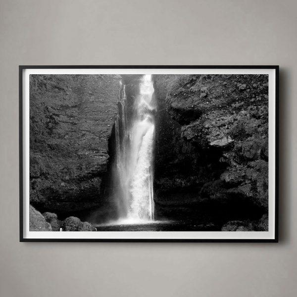 "Contemporary Jeaneen Lund ""Falling Water No. 1"" Unframed Photographic Print For Sale - Image 3 of 3"