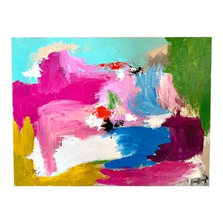 Abstract Colorful Painting For Sale