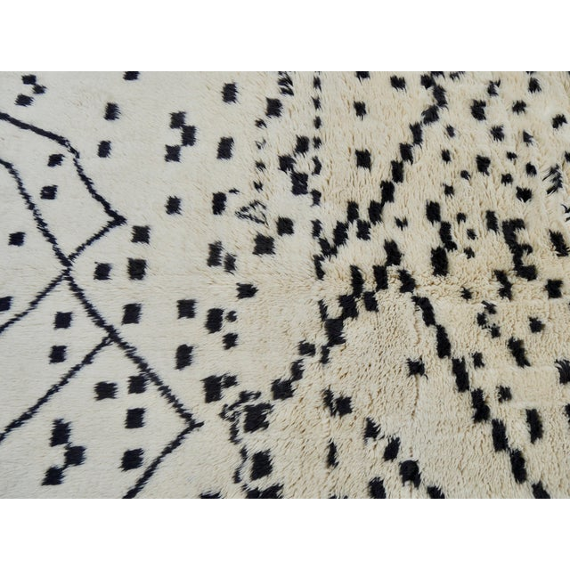 Newly Made Beni M'rirt Rug // Handwoven in Morocco