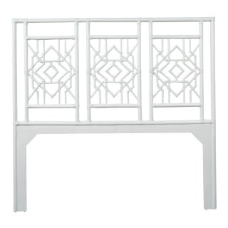 Tulum Headboard Queen - White For Sale