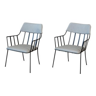 Pair of Paul Laszlo Armchairs For Sale