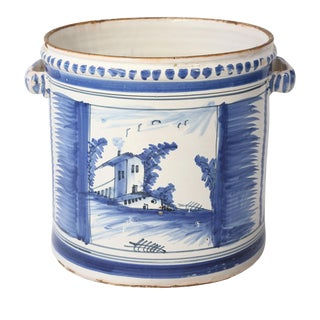Nevers Faience 'Pot a Oranger' For Sale