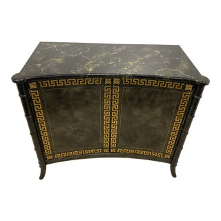 Mario Buatta by John Widdicomb Painted Console Cabinet For Sale