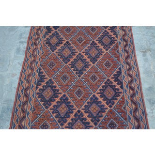 Long Afghan Mishwani Rug Runner - 2′2″ × 9′10″ Preview