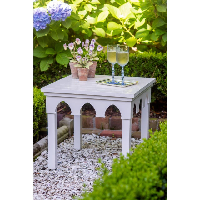 """Maybe all you are looking for is a little pop of color, maybe your outdoor """"set"""" didn't include a side table. Either way,..."""