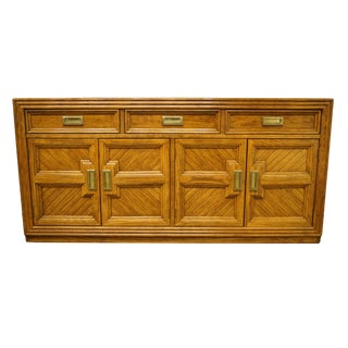 "20th Century Traditional Thomasville Furniture Sundance Collection 64"" Buffet/Sideboard For Sale"