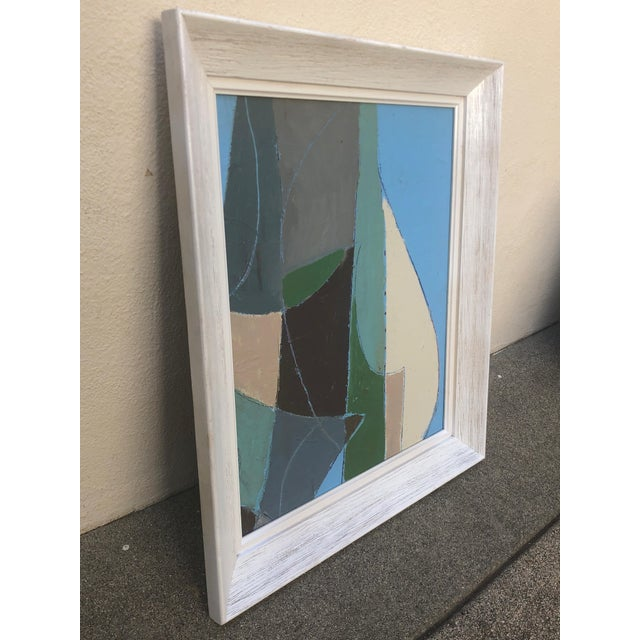 Mid Century Abstract Painting For Sale - Image 4 of 5