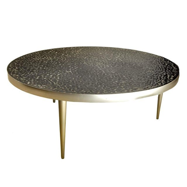 Mid-Century Mosaic Tile Coffee Table For Sale - Image 4 of 8