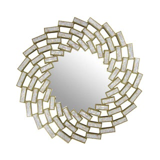Oversized Clemence Mother of Pearl Mirror For Sale
