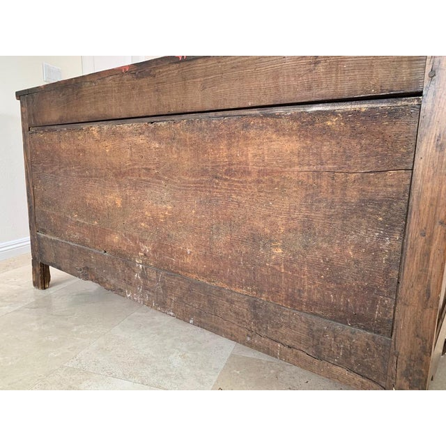 Antique Rustic French Walnut Buffet For Sale - Image 4 of 13