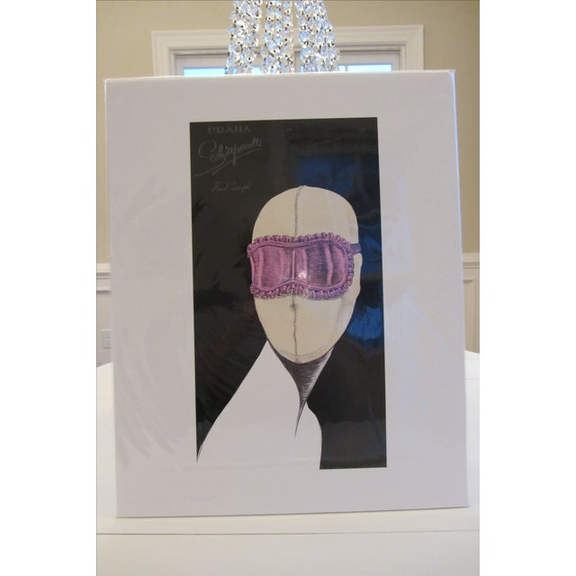 """Prada """"Head Concepts"""" Museum Prints - Set of 9 For Sale - Image 5 of 11"""