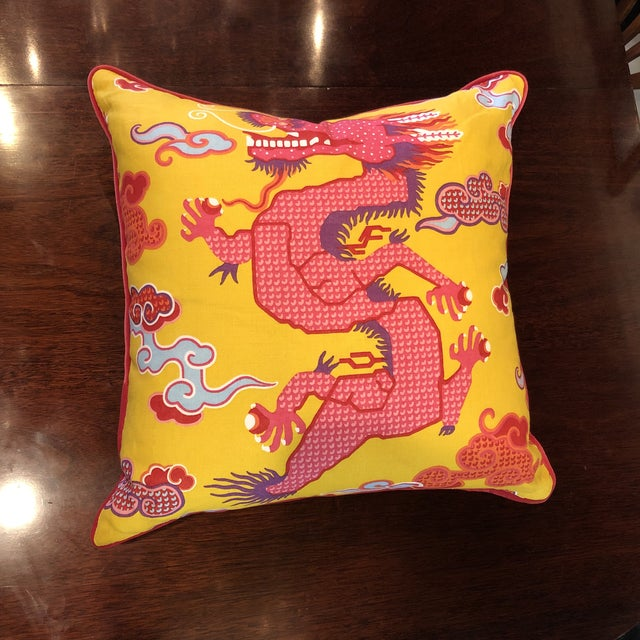 Dragon Pillow For Sale - Image 4 of 5