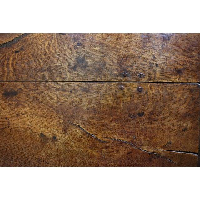 Oak Jacobean Oak Refectory Table For Sale - Image 7 of 10