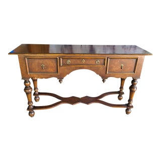 Vintage Traditional Console/Entrance Table For Sale