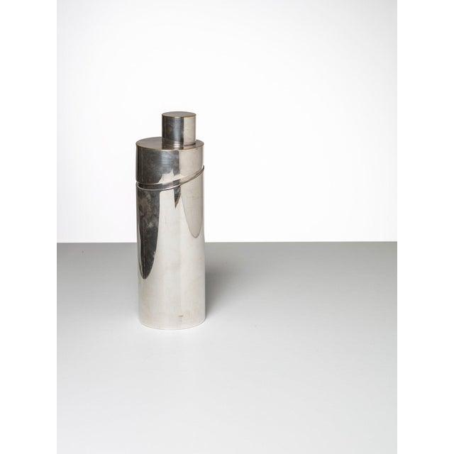 """Windsor"" silver-plated shaker by Lino Sabattini for Christofle."