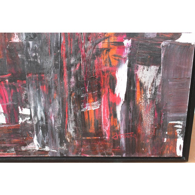 Abstract Abstract Painting by Jeff House For Sale - Image 3 of 5