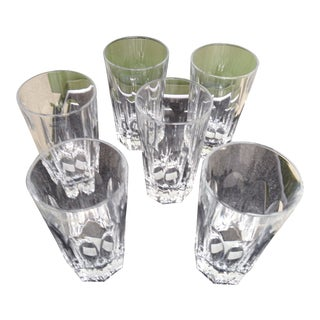 Christofle Highball Glasses - Set of 6 For Sale