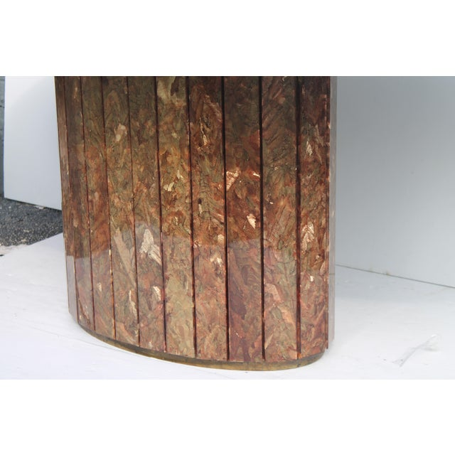MidCentury Modern Marble Dining Table Chairish - Mid century marble dining table