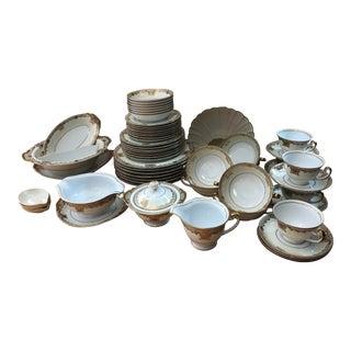 Mieto China Goldmar Pattern Dinnerware For Sale