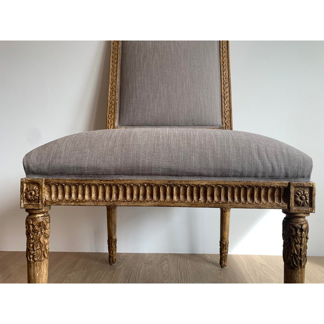 Neoclassical Nancy Corzine Chairs - Set of 8 For Sale - Image 3 of 13