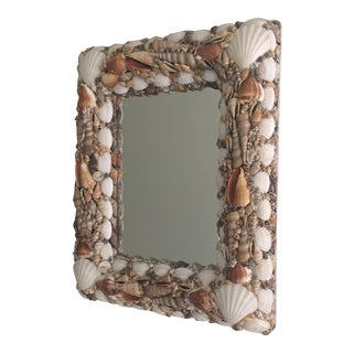 Vintage Shell Wall Mirror