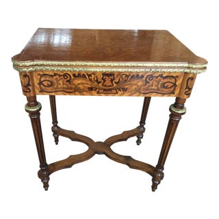 Louis XV Style Flip Top Game Table