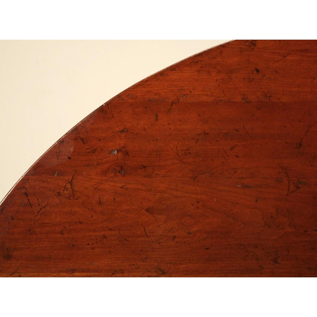 French Cherry Tilt-Top Wine Table Reproduction For Sale In Chicago - Image 6 of 9