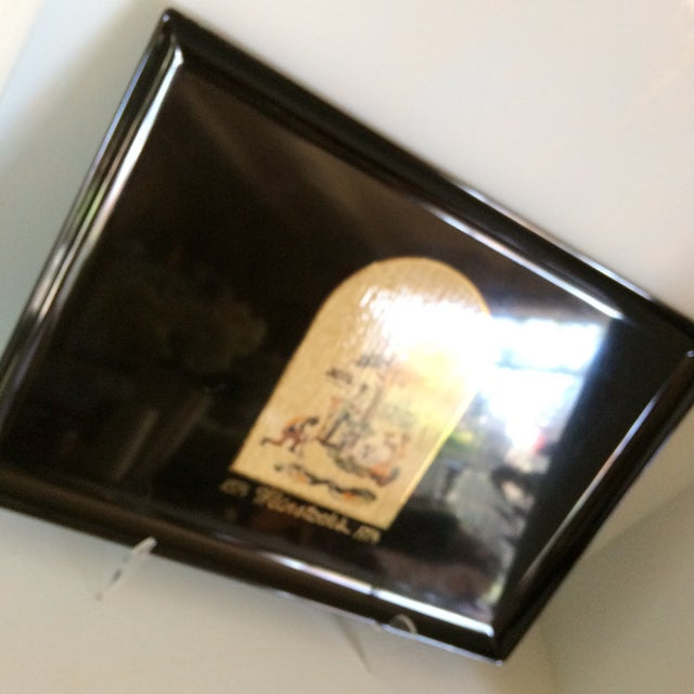 Special Vintage Couroc of Monterey Centennial Weinstocks Serving Tray For Sale - Image 12 of 13