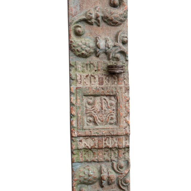 Antique Architectural Carved Panel - Image 4 of 4