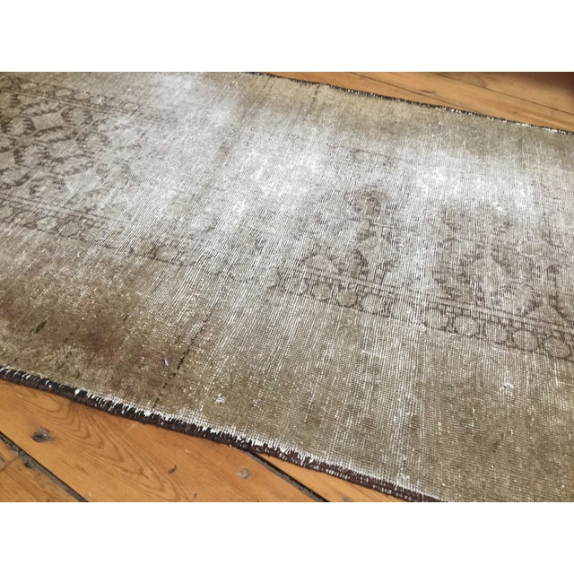 """Distressed Belouch Rug - 3'1"""" x 5'6"""" - Image 4 of 5"""