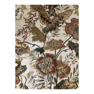 Schumacher 7 Yards Sandoway Vine Paisley Print Fabric For Sale