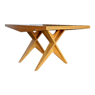 1940s Dan Johnson Dining Table For Sale