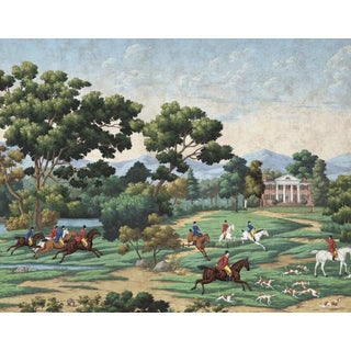 "Casa Cosima Monticello Wallpaper Mural - 5 Panels 180"" W X 96"" H For Sale"