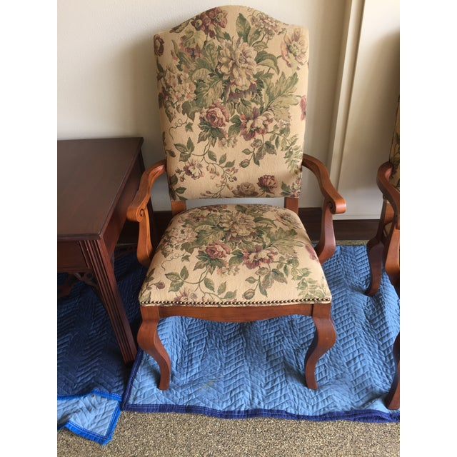 Ethan Allen Maison Dining Chairs - A Pair - Image 3 of 3