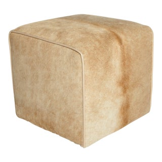Modern Palomino Waterfall Ottoman For Sale