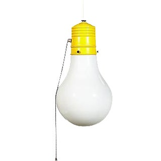 1960s Light Bulb Style Pendant For Sale