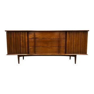 Walnut Dresser by United Furniture For Sale