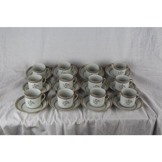 Vista Algere Cups & Saucers - Set of 12 For Sale - Image 9 of 10